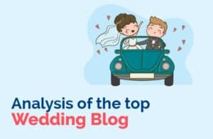 Analysis of the top wedding blogs