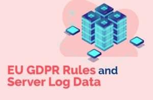 EU GDPR Rules and Server Log Data
