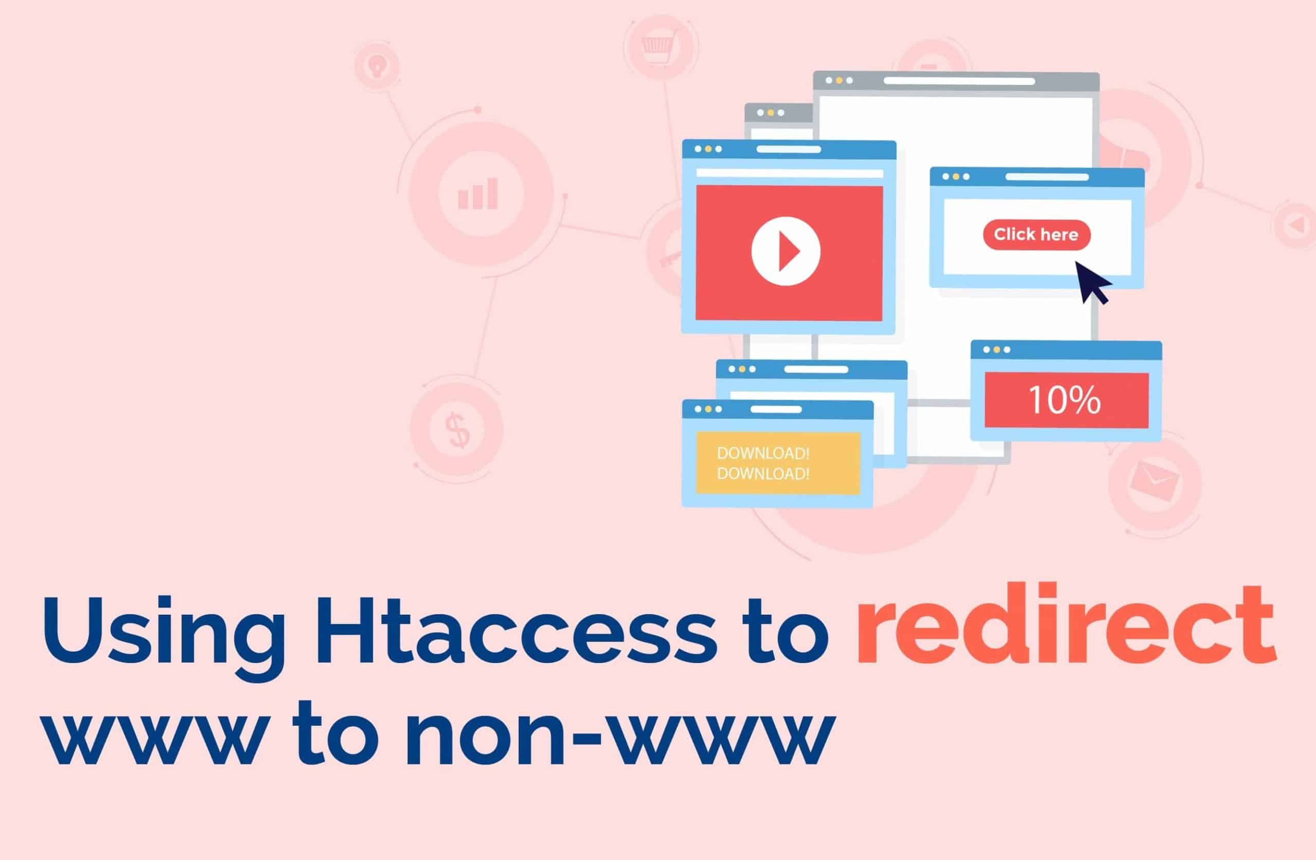 Using Htaccess to redirect www to non-www