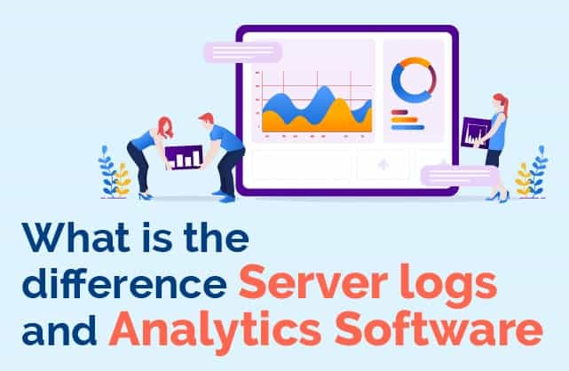 What is the difference between server logs and analytics software