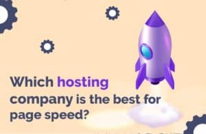 Which hosting company is the best for page speed