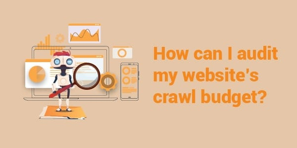 how can i audit my crawl budget
