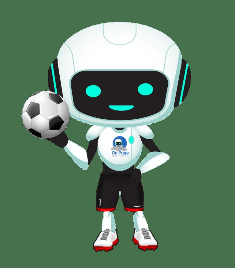 junior onpage rocks robot