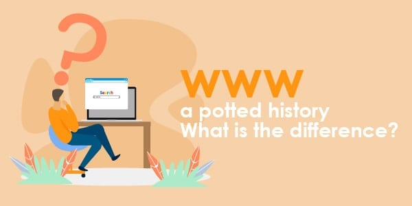 www a plotted history what is the difference